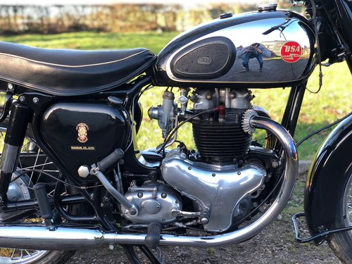 BSA A10 Gold Flash 1955 650cc  For Sale (picture 3 of 6)