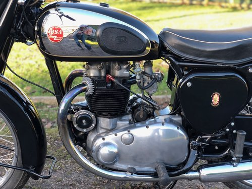 BSA A10 Gold Flash 1955 650cc  For Sale (picture 4 of 6)