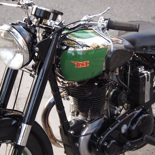 1949 BSA B33 499cc Rigid. RESERVED FOR JOHN. For Sale (picture 5 of 6)