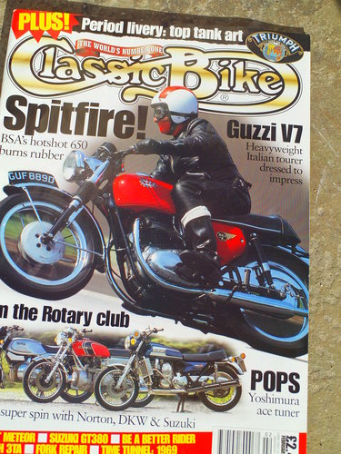 1968 BSA A65 SPITFIRE MK2 SOLD (picture 6 of 6)