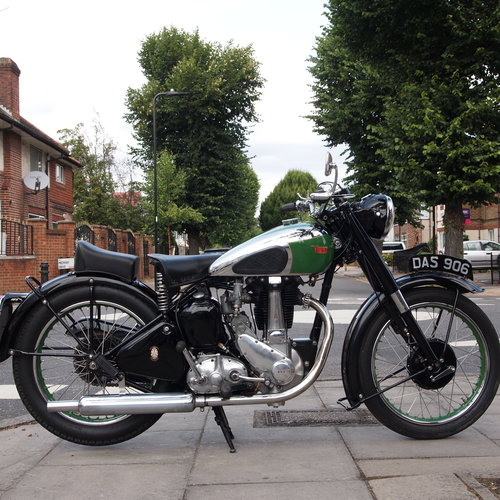 1949 BSA B33 499cc Rigid. RESERVED FOR JOHN. For Sale (picture 1 of 6)