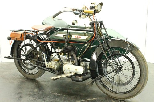 BSA model H 1922 557cc 1 cyl sv combination  For Sale (picture 1 of 6)
