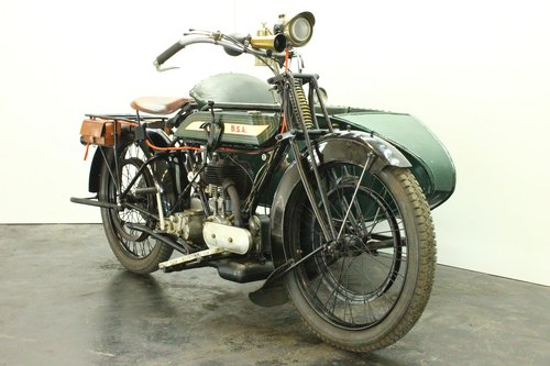 BSA model H 1922 557cc 1 cyl sv combination  For Sale (picture 2 of 6)
