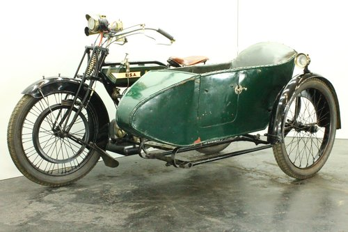 BSA model H 1922 557cc 1 cyl sv combination  For Sale (picture 3 of 6)
