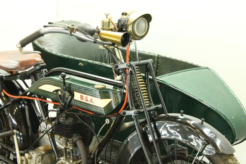 BSA model H 1922 557cc 1 cyl sv combination  For Sale (picture 4 of 6)