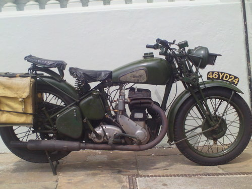 1941 BSA WM20 MILITARY SOLD (picture 1 of 6)