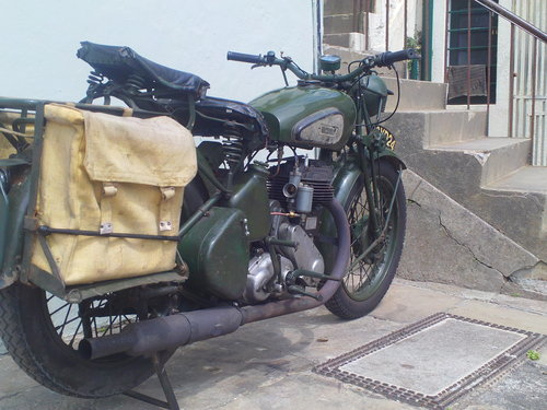 1941 BSA WM20 MILITARY SOLD (picture 2 of 6)