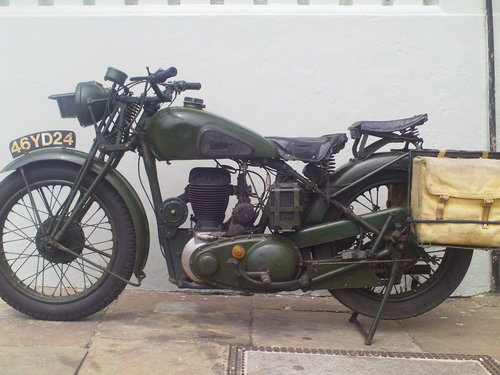 1941 BSA WM20 MILITARY SOLD (picture 3 of 6)