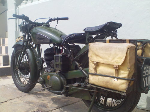 1941 BSA WM20 MILITARY SOLD (picture 4 of 6)