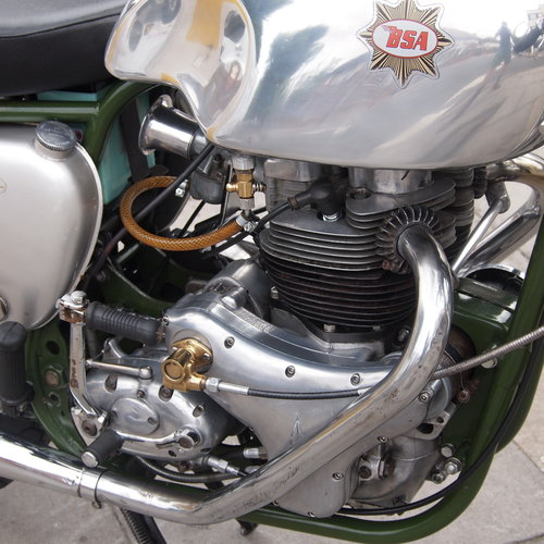 1958 BSA A10R Super Rocket 650cc RESERVED FOR STEVE. SOLD (picture 4 of 6)