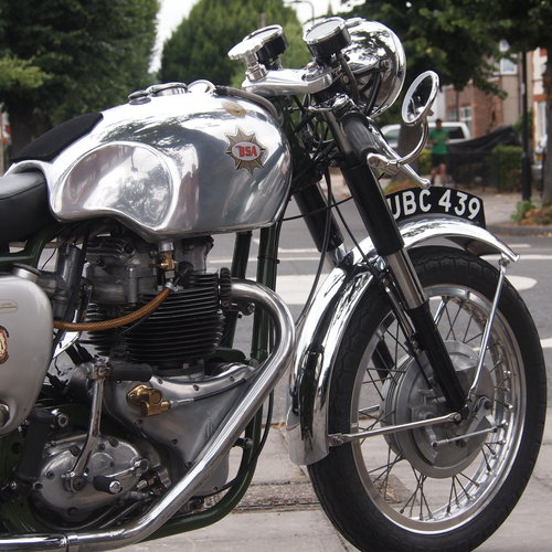 1958 BSA A10R Super Rocket 650cc RESERVED FOR STEVE. SOLD (picture 5 of 6)