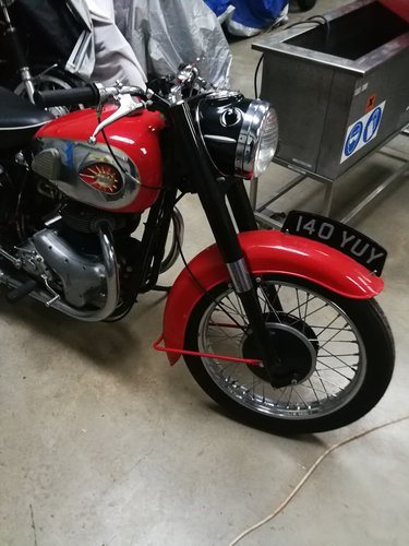 1960 A10 650cc Super Rocket For Sale (picture 1 of 3)