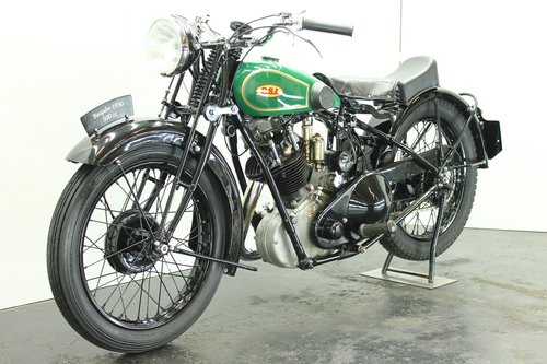 BSA S32-8 / 4.93hp deluxe 1932 500cc 1 cyl ohv For Sale (picture 3 of 6)