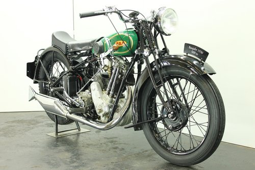 BSA S32-8 / 4.93hp deluxe 1932 500cc 1 cyl ohv For Sale (picture 4 of 6)