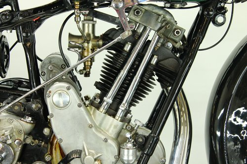 BSA S32-8 / 4.93hp deluxe 1932 500cc 1 cyl ohv For Sale (picture 5 of 6)