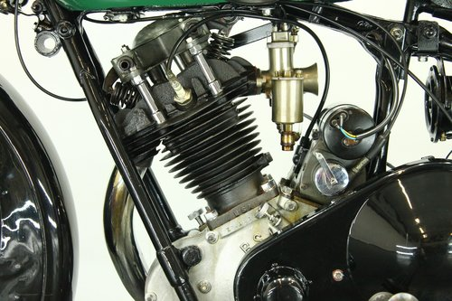 BSA S32-8 / 4.93hp deluxe 1932 500cc 1 cyl ohv For Sale (picture 6 of 6)