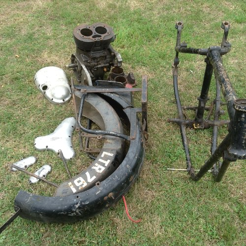 1953 BSA A10 Project, For Sale (picture 3 of 4)