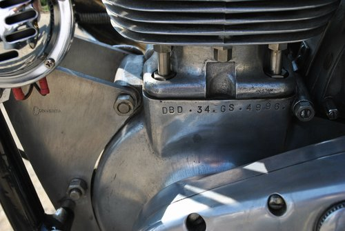 1960 BSA Gold Star Clubman 500  For Sale (picture 5 of 6)