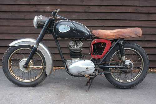 BSA C15 C 15 SS 80 Sports Star 1963 US BARN FIND Winter Rest SOLD (picture 2 of 6)