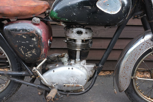 BSA C15 C 15 SS 80 Sports Star 1963 US BARN FIND Winter Rest SOLD (picture 4 of 6)