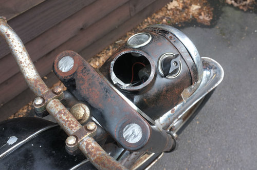 BSA C15 C 15 SS 80 Sports Star 1963 US BARN FIND Winter Rest SOLD (picture 6 of 6)