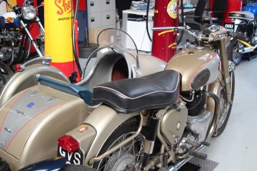 1959 BSA Gold Flash side car out-fit  For Sale (picture 3 of 4)