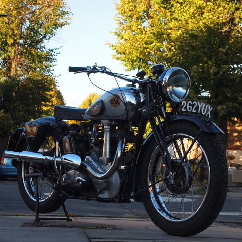 1939 BSA M22 Early Rare Desirable. SOLD TO TOM. SOLD (picture 1 of 6)
