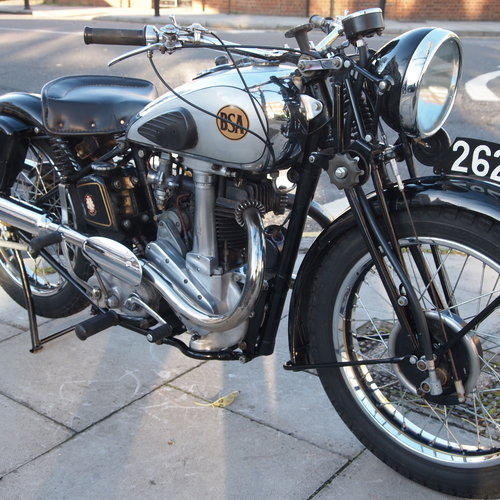 1939 BSA M22 Early Rare Desirable. SOLD TO TOM. SOLD (picture 5 of 6)