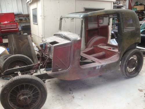 1933 BSA 10hp Peerless Coupe Project For Sale (picture 3 of 6)