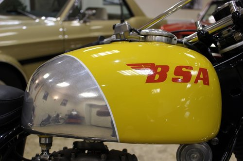 1969 BSA B40 GB Series in ISDT Trim SOLD (picture 2 of 6)
