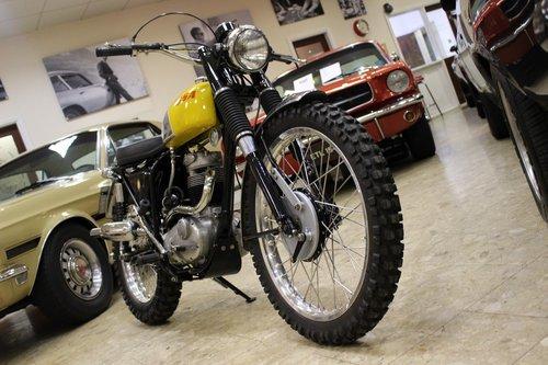 1969 BSA B40 GB Series in ISDT Trim SOLD (picture 3 of 6)