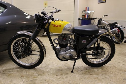 1969 BSA B40 GB Series in ISDT Trim SOLD (picture 4 of 6)