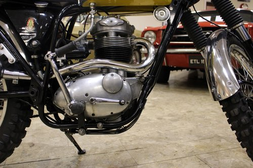 1969 BSA B40 GB Series in ISDT Trim SOLD (picture 6 of 6)