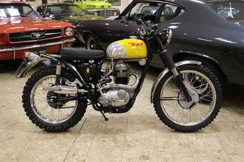1969 BSA B40 GB Series in ISDT Trim SOLD (picture 1 of 6)