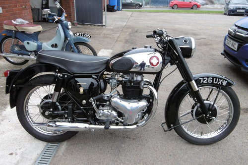 1959 BSA GOLFLASH Full nut and bolt restoration  SOLD (picture 1 of 6)