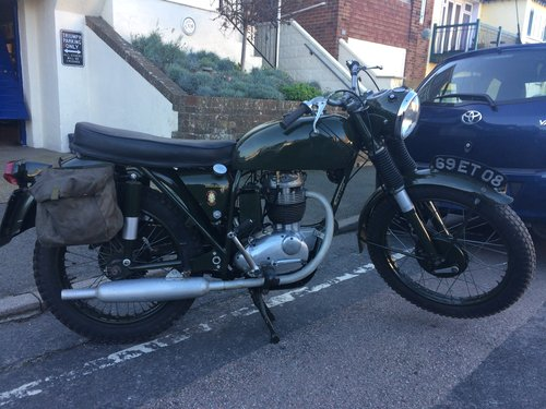 1967 BSA B40 WD SOLD (picture 1 of 6)
