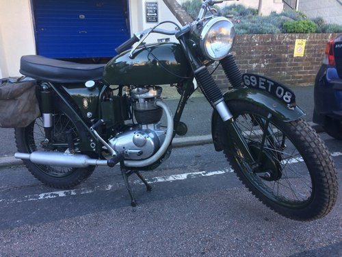 1967 BSA B40 WD SOLD (picture 2 of 6)