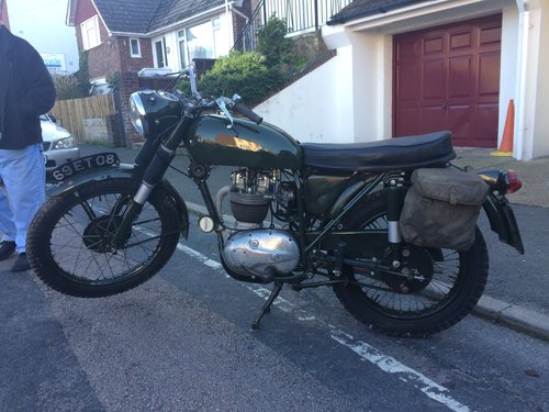 1967 BSA B40 WD SOLD (picture 3 of 6)