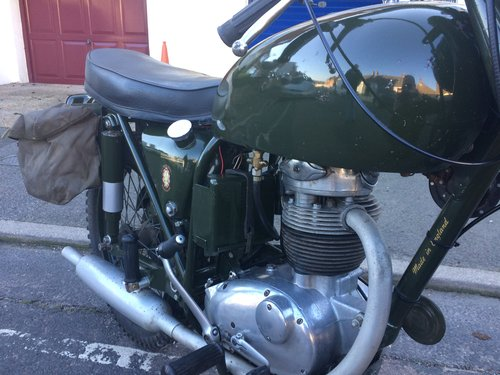 1967 BSA B40 WD SOLD (picture 5 of 6)