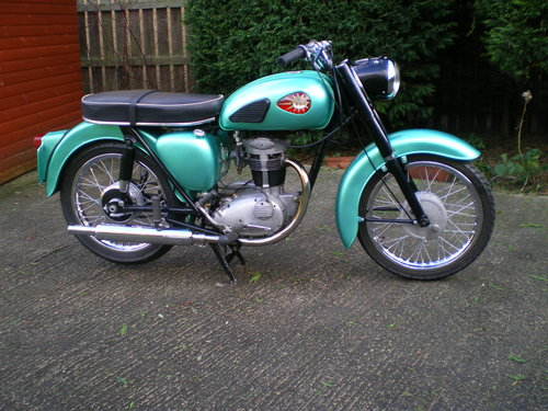 1959 BSA C15  250cc , beautiful condition , lots spent !!         SOLD (picture 1 of 6)