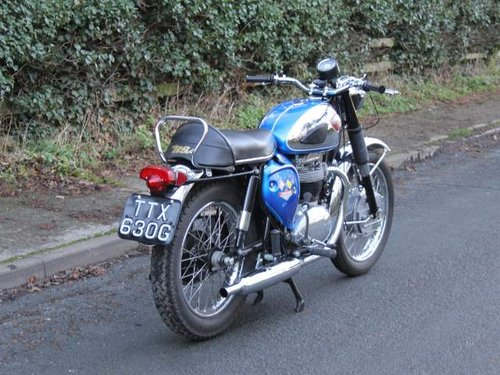 1968 Early BSA A65 Thunderbolt, Fully rebuilt to show standard For Sale (picture 3 of 6)