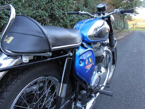 1968 Early BSA A65 Thunderbolt, Fully rebuilt to show standard For Sale (picture 4 of 6)