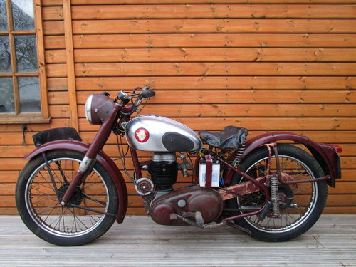 BSA C11S Unrestored 1954                   SOLD (picture 2 of 6)