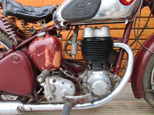 BSA C11S Unrestored 1954                   SOLD (picture 3 of 6)