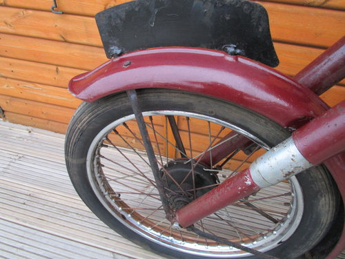 BSA C11S Unrestored 1954                   SOLD (picture 6 of 6)