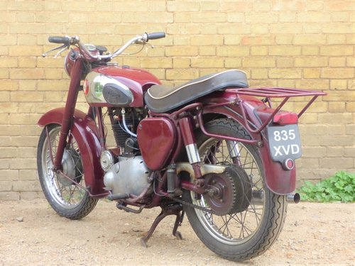 1956 BSA B31 350cc SOLD (picture 5 of 6)