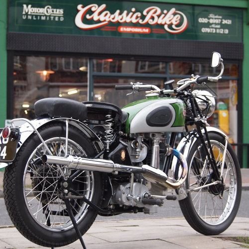 1938 BSA B24  O.H.V. With B25 350cc Competition Engine. For Sale (picture 1 of 6)