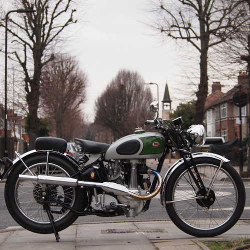 1938 BSA B24  O.H.V. With B25 350cc Competition Engine. For Sale (picture 2 of 6)