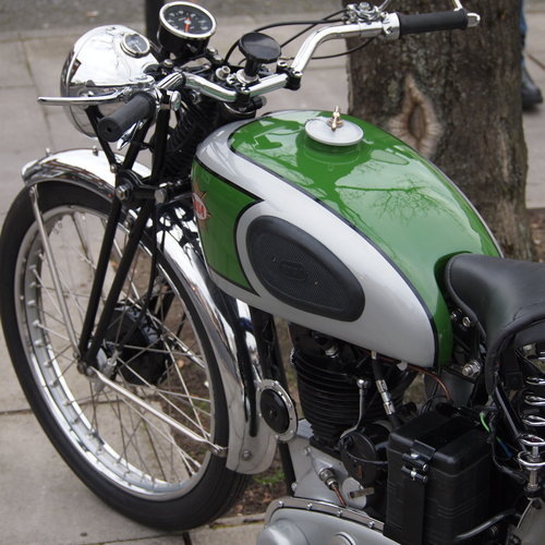 1938 BSA B24  O.H.V. With B25 350cc Competition Engine. For Sale (picture 3 of 6)