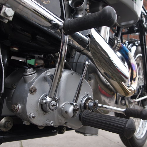 1938 BSA B24  O.H.V. With B25 350cc Competition Engine. For Sale (picture 4 of 6)